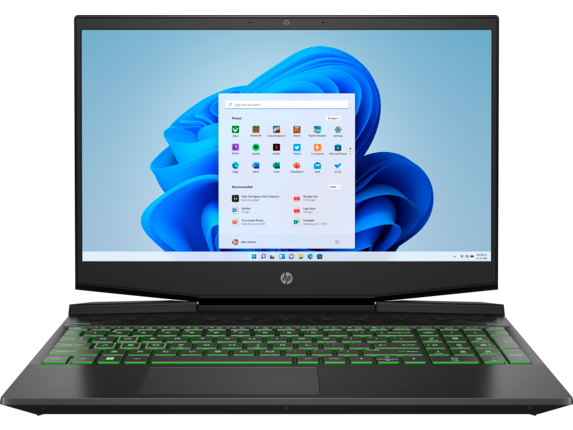 HP Gaming Pavilion - 15-dk0046nr - Center