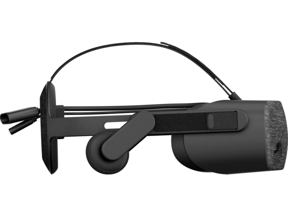 HP Reverb Virtual Reality Headset - Professional Edition - Right profile closed |https://ssl-product-images.www8-hp.com/digmedialib/prodimg/lowres/c06318109.png