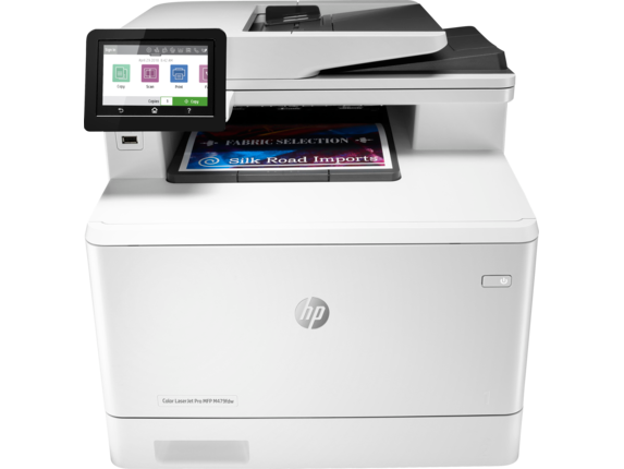 HP Color LaserJet Pro MFP M479fdw - Center