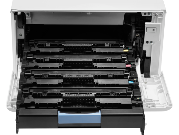 HP Color LaserJet Pro MFP M479fdn - Detail view |white