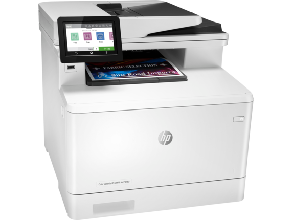 HP Color LaserJet Pro MFP M479fdw - Right