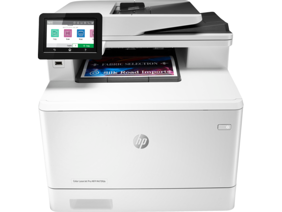 HP Color LaserJet Pro MFP M479fdn - Center