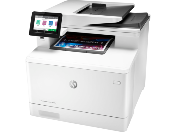 HP Color LaserJet Pro MFP M479fdn - Left
