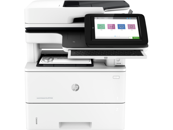 HP LaserJet Enterprise Flow MFP M528z - Center |white