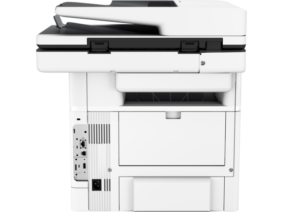 HP LaserJet Enterprise Flow MFP M528z - Rear |white