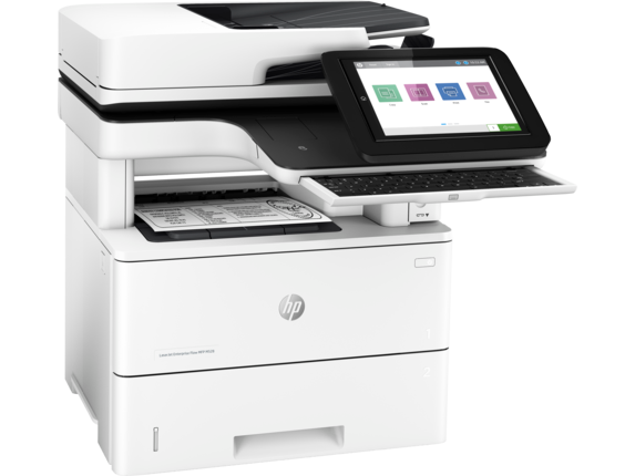 HP LaserJet Enterprise Flow MFP M528z - Right |white