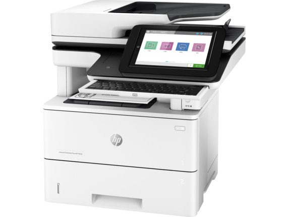 HP LaserJet Enterprise Flow MFP M528c - Left |white