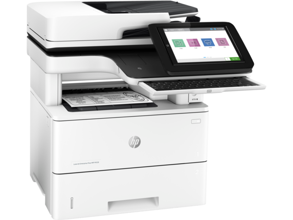 HP LaserJet Enterprise Flow MFP M528c - Right |white
