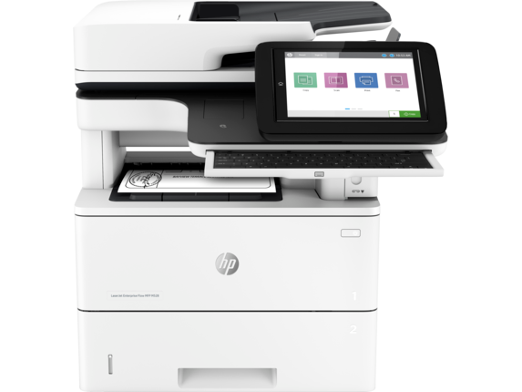 HP LaserJet Enterprise Flow MFP M528c - Center |white