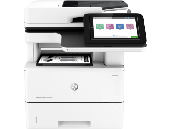 HP LaserJet Enterprise MFP M528dn - Center