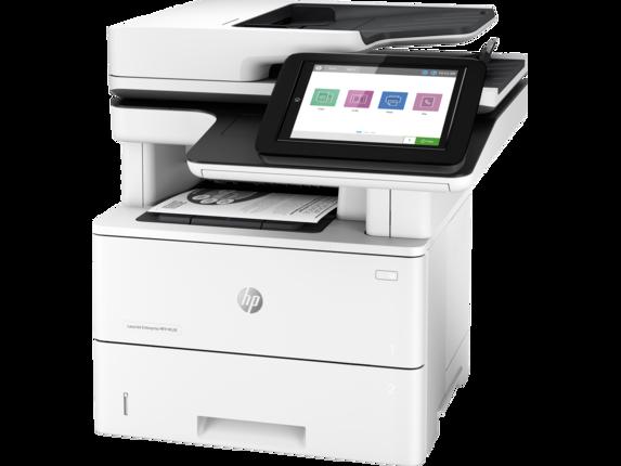 HP LaserJet Enterprise MFP M528dn - Left |white