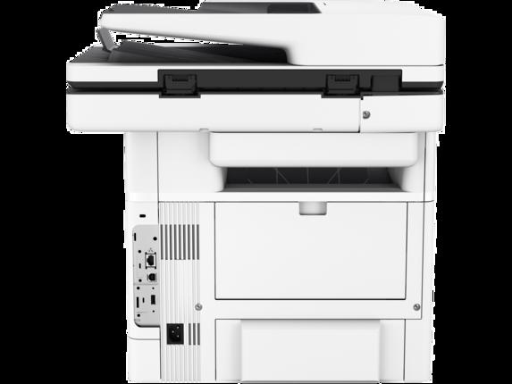 HP LaserJet Enterprise MFP M528dn - Rear |white