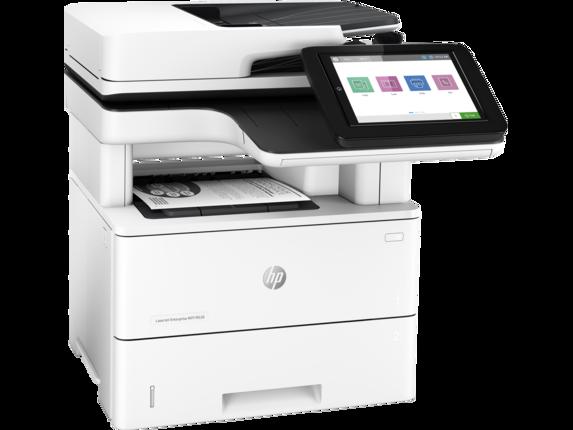 HP LaserJet Enterprise MFP M528dn - Right |white
