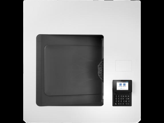 HP Color LaserJet Enterprise M751dn - Top view closed |white