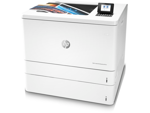 HP Color LaserJet Enterprise M751dn - Left
