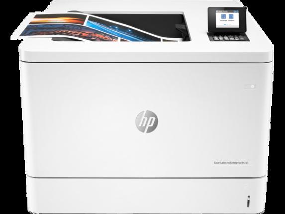 HP Color LaserJet Enterprise M751dn - Center |white