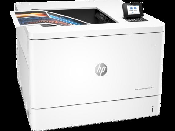 HP Color LaserJet Enterprise M751dn - Right |white