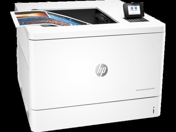 HP Color LaserJet Enterprise M751n - Right |white