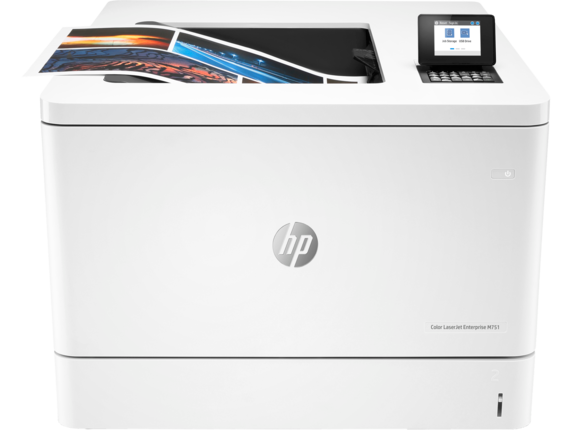 HP Color LaserJet Enterprise M751n - Center |white