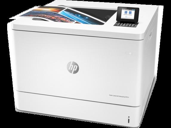 HP Color LaserJet Enterprise M751n - Left |white