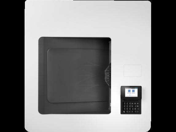 HP Color LaserJet Enterprise M751n - Top view closed |white