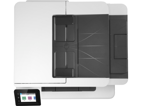 HP LaserJet Pro MFP M428fdn - Top view closed
