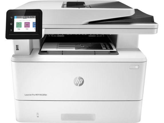 HP LaserJet Pro MFP M428fdn - Center