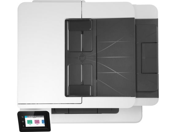 HP LaserJet Pro MFP M428fdw - Top view closed