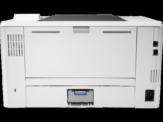 HP LaserJet Pro M404n - Rear
