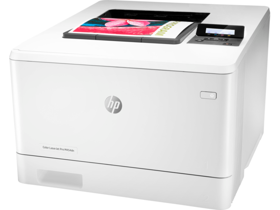 HP Color LaserJet Pro M454dn - Left