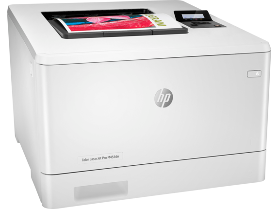 HP Color LaserJet Pro M454dn - Right