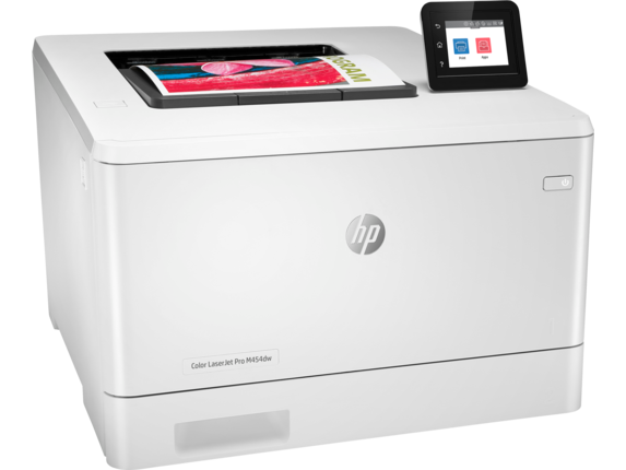 HP Color LaserJet Pro M454dw - Right