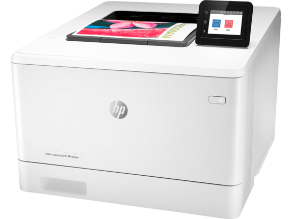 HP Color LaserJet Pro M454dw - Left