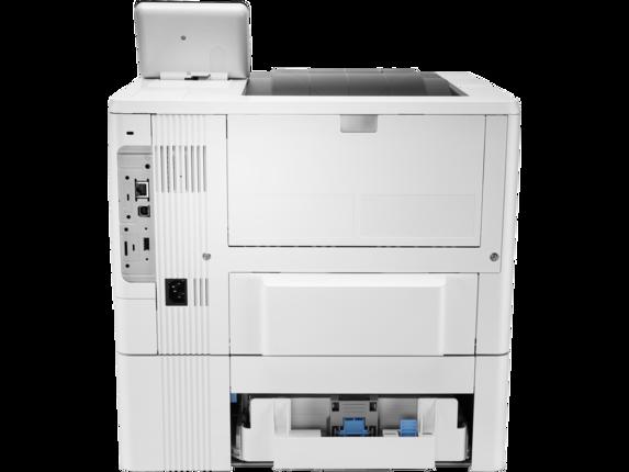 HP LaserJet Enterprise M507x - Rear |white