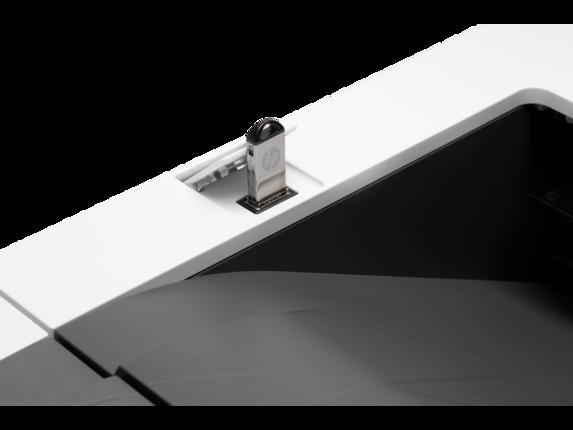HP LaserJet Enterprise M507x - Detail view |white