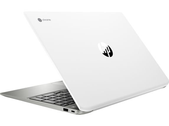 HP Chromebook - 15-de0010nr - Left rear