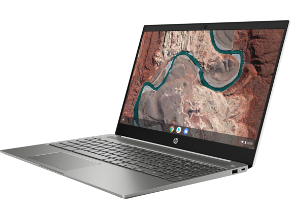 HP Chromebook - 15-de0010nr - Left