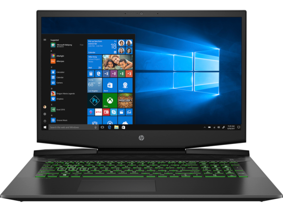 HP Gaming Pavilion - 17-cd0095nr - Center