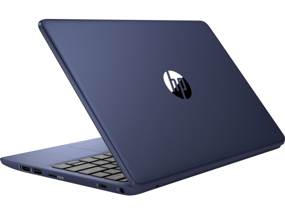 HP Stream - 11-ak1010nr - Left rear