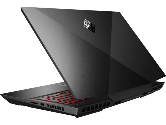 OMEN Laptop - 17t - Left rear |Shadow Black