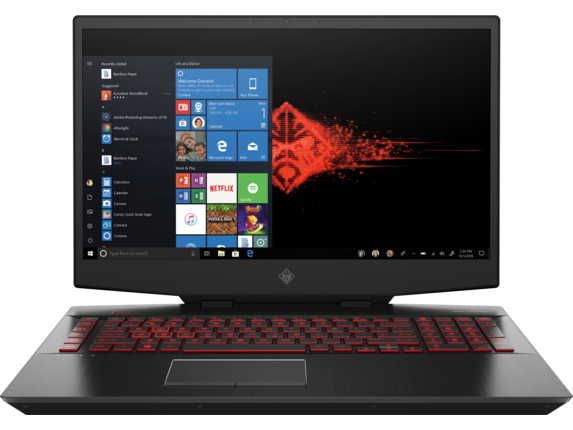 OMEN Laptop - 17t - Center |Shadow Black