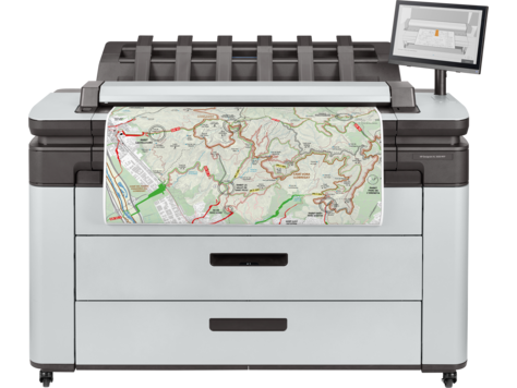 HP DesignJet XL 3600 Multifunction Printer series