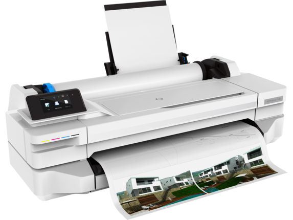 HP DesignJet T130 24-in Printer - Right