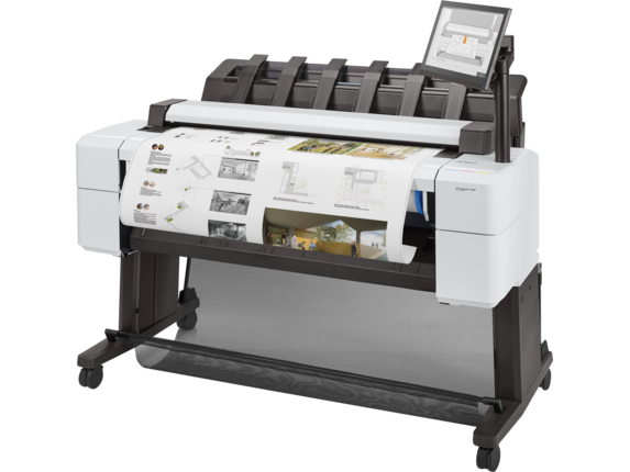HP DesignJet T2600 36-in PostScript Multifunction Printer - Left