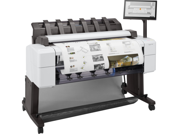 HP DesignJet T2600dr 36-in PostScript Multifunction Printer - Right