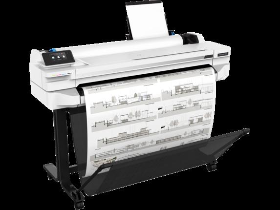 HP DesignJet T525 36-in Printer - Right