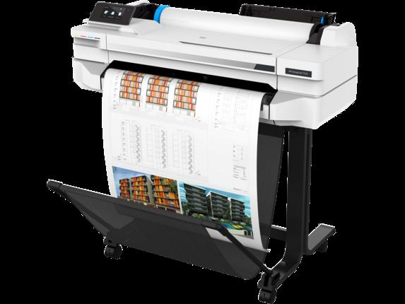 HP DesignJet T525 24-in Printer - Left