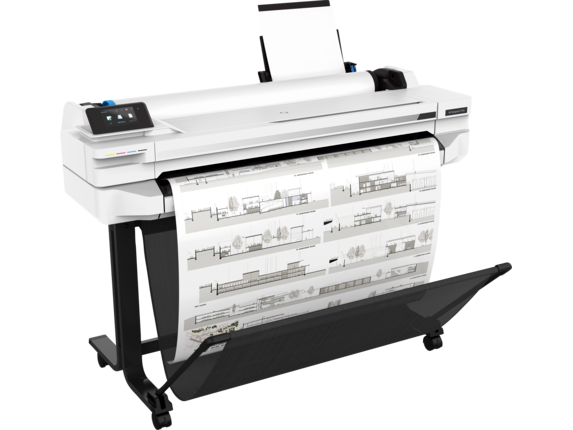 HP DesignJet T530 36-in Printer - Right