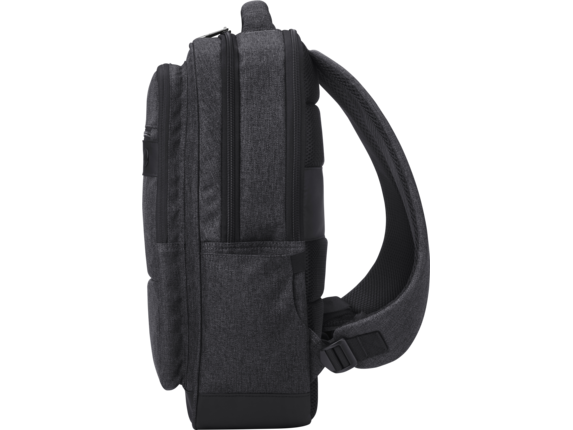HP Executive 15.6 Backpack - Left profile closed