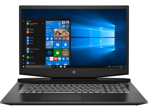 HP Pavilion Gaming Laptop - 17-cd1004nc